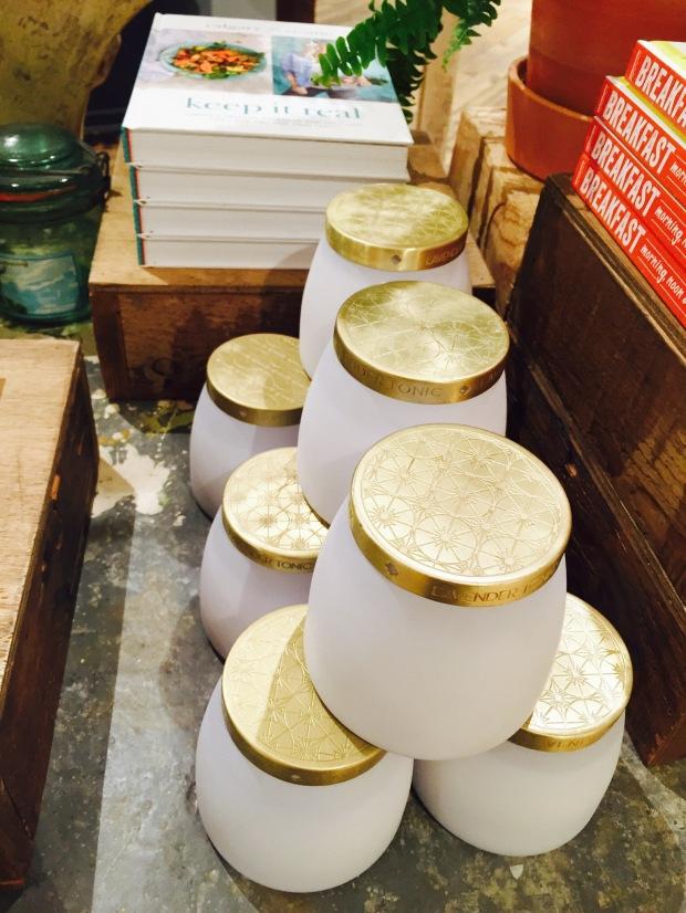 gold jars